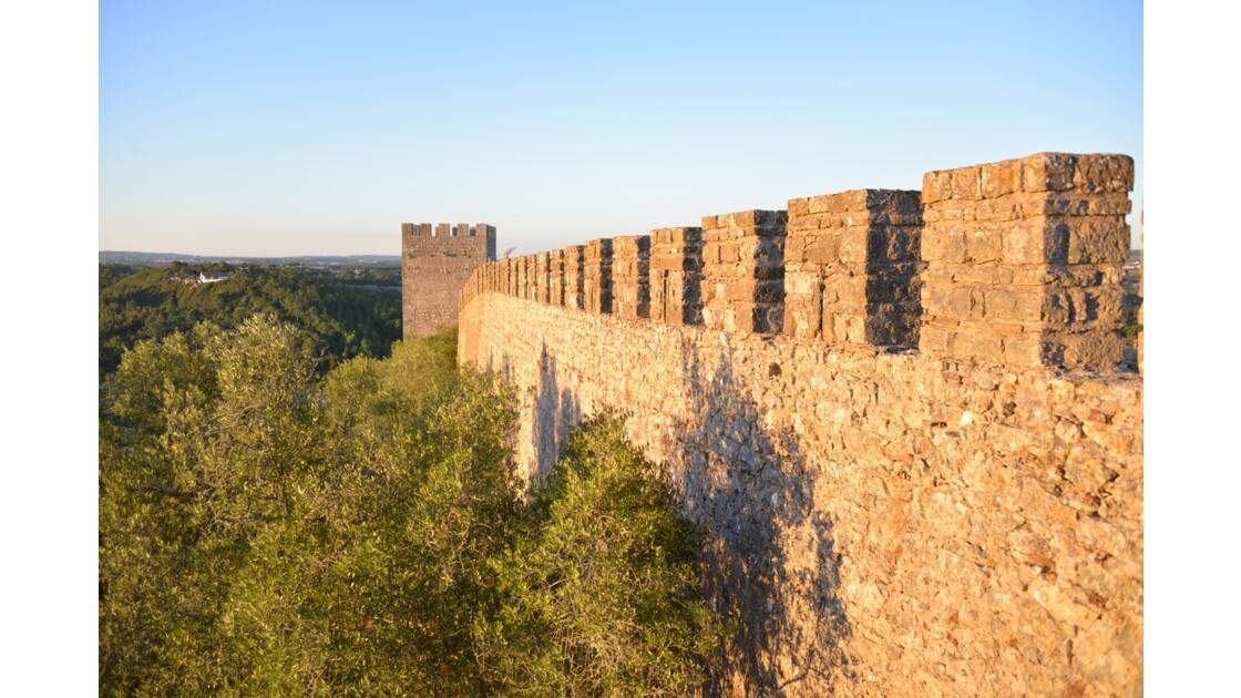 La muraille d'Obidos