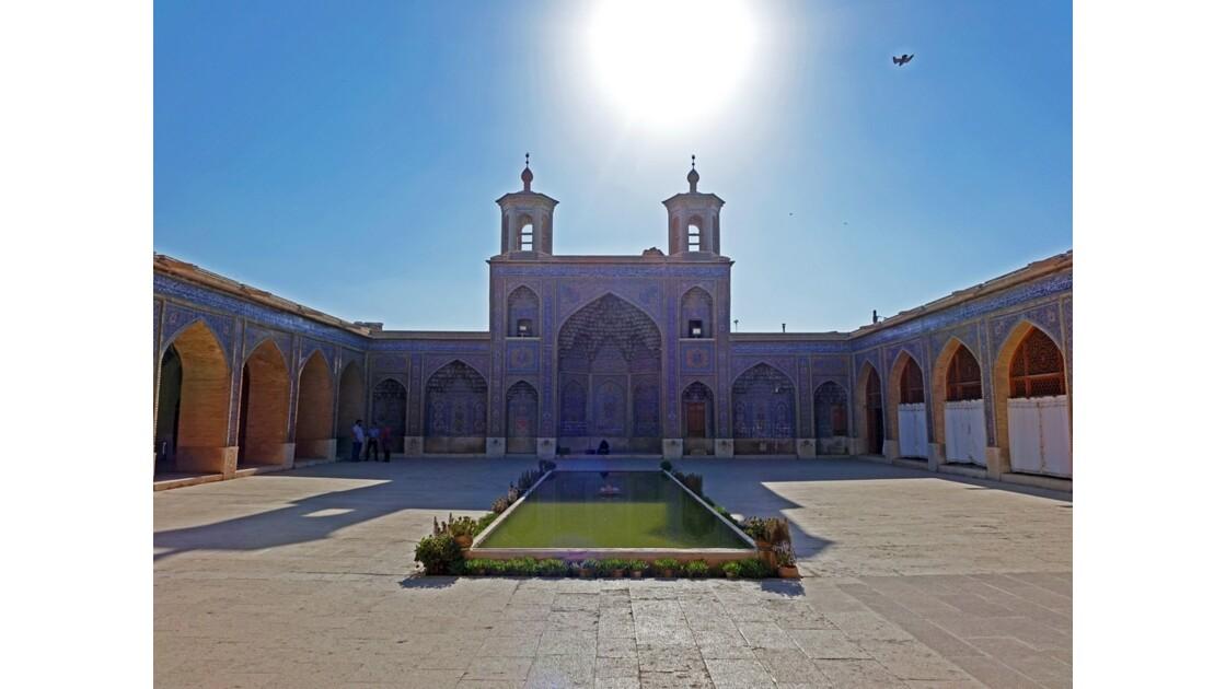 Iran Shiraz la mosquée Nasir-ol-Molk Iwan Sud 2