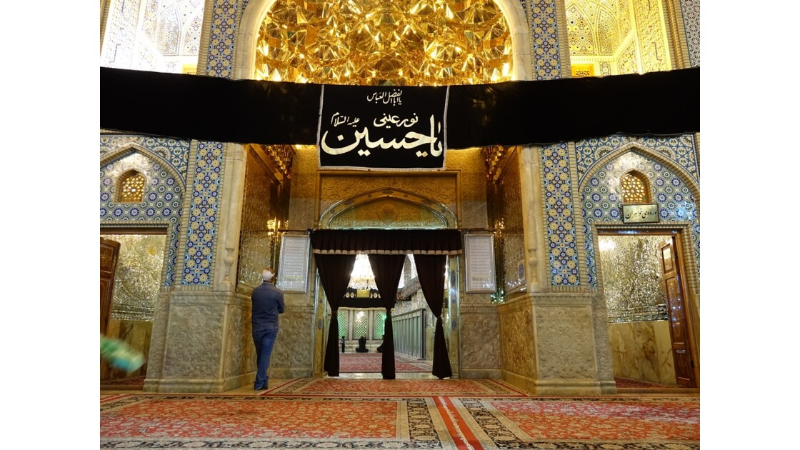 Iran Shiraz Mausolée de Sayyed Mir Mustapha 7