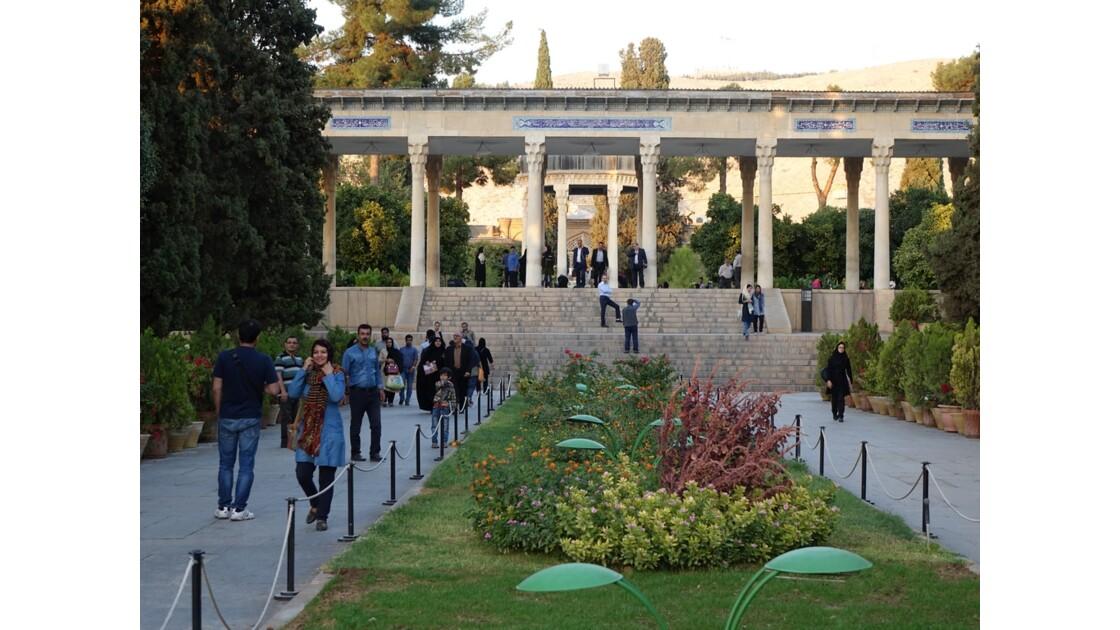 Iran Shiraz le mausolée de Hâfez 1
