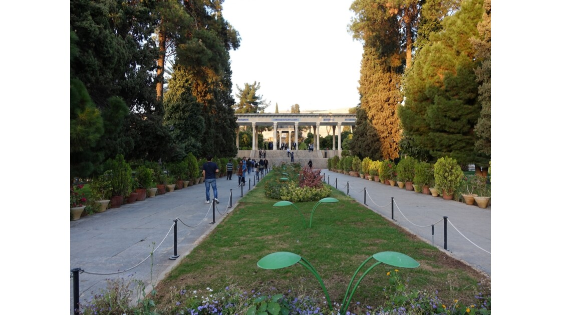 Iran Shiraz le mausolée de Hâfez 3