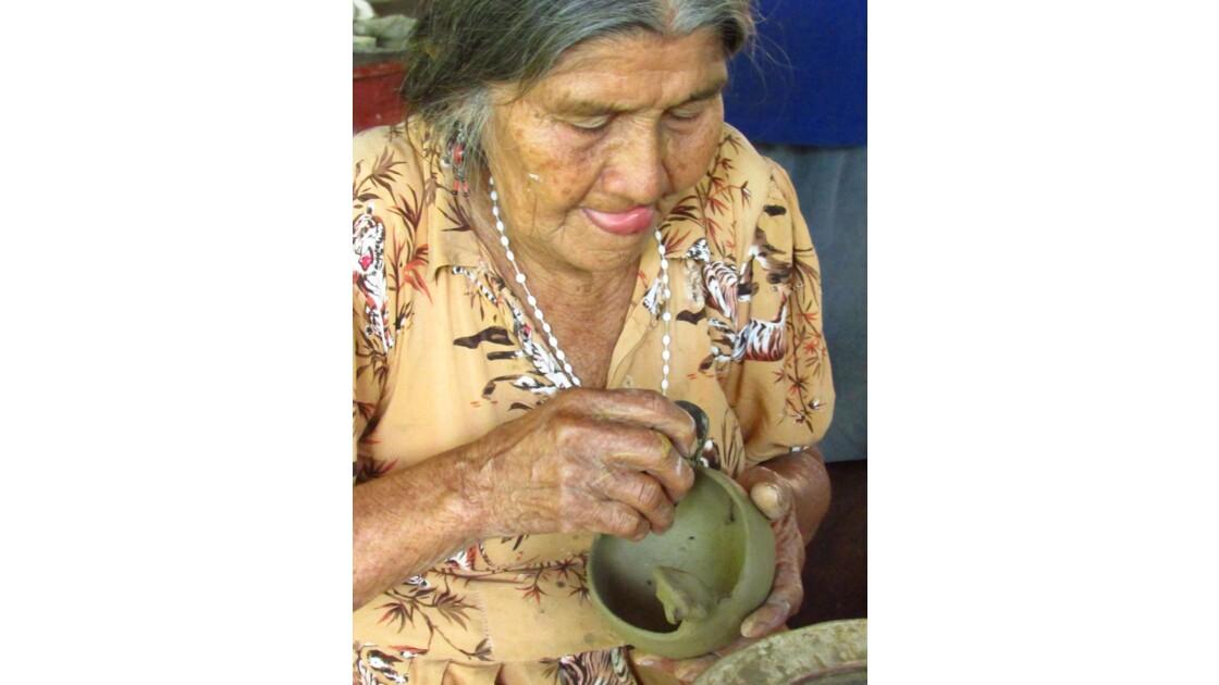 Potière à Chazuta, Tarapoto