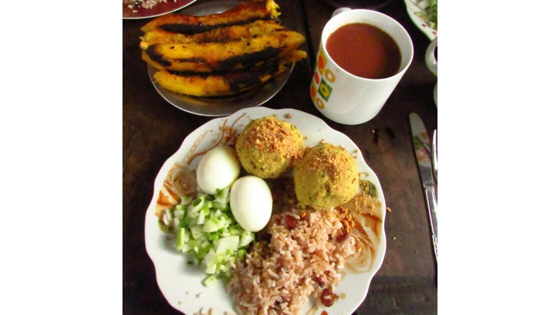Petit déjeuner Chazuta, Tarapoto