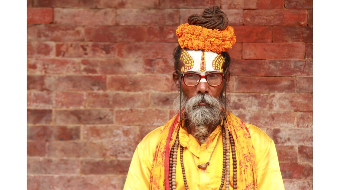 Un Saddhu à Kathmandu