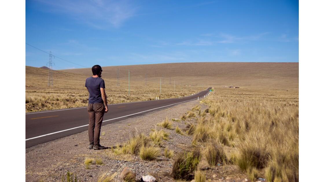 Road trip sur le paramo péruvien
