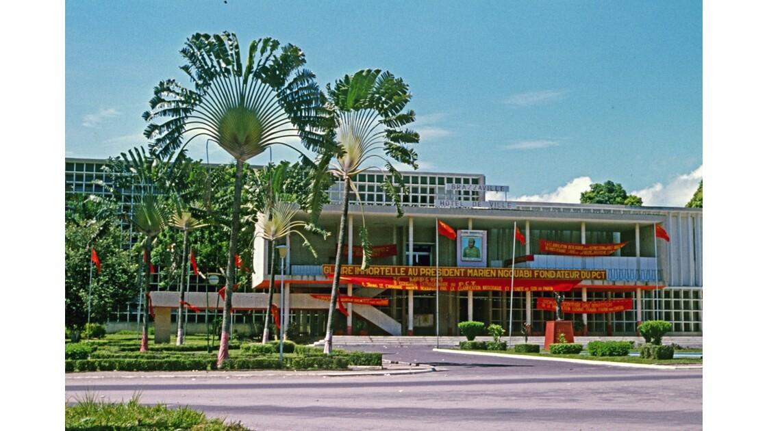 Congo 70 Brazzaville Hôtel de Ville 2