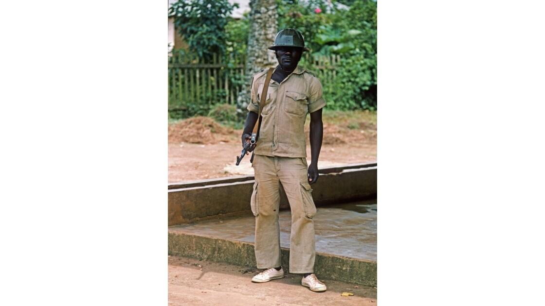 Congo 70 Brazzaville Milicien