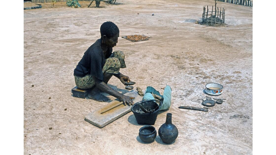 Congo 70  Brazzaville la poterie 2