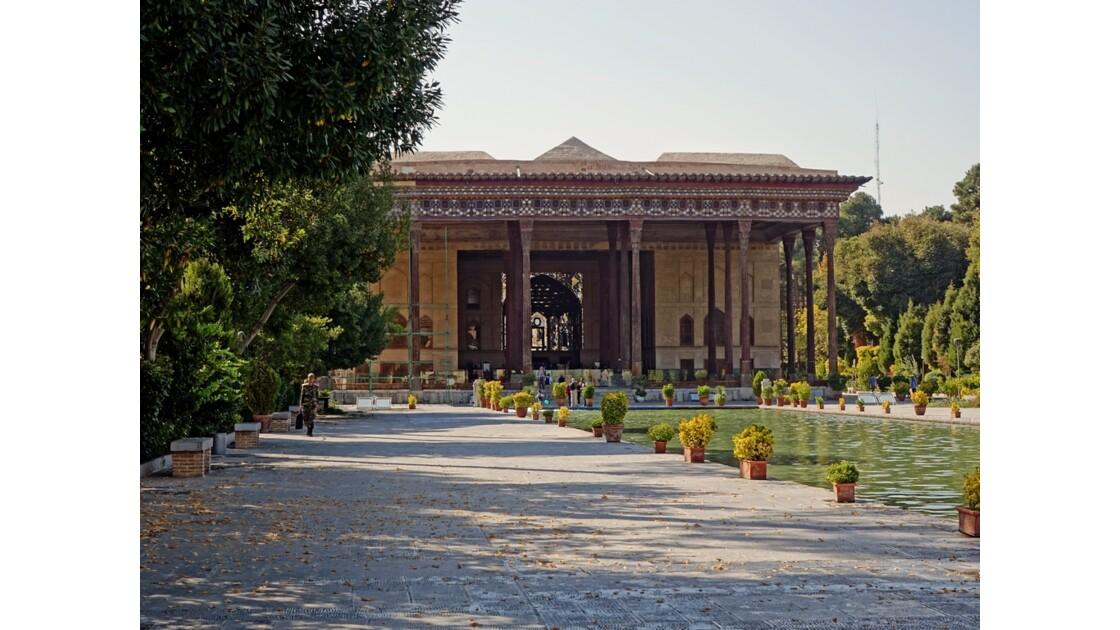 Iran Ispahan Chehel Sotoun Palais des 40 colonnes 3