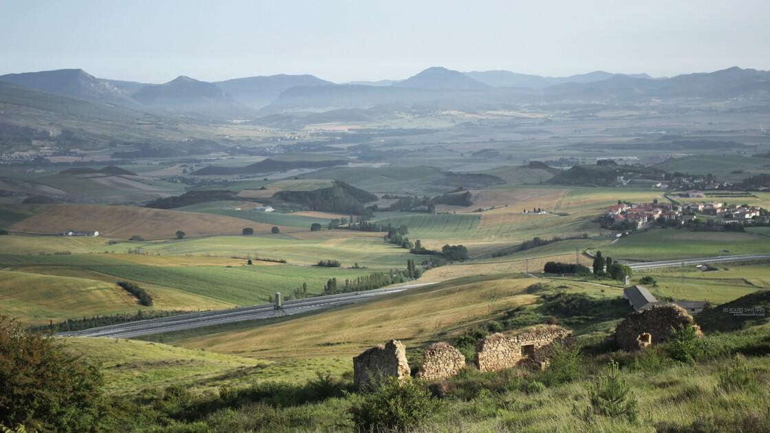 Les montagnes de Navarre.