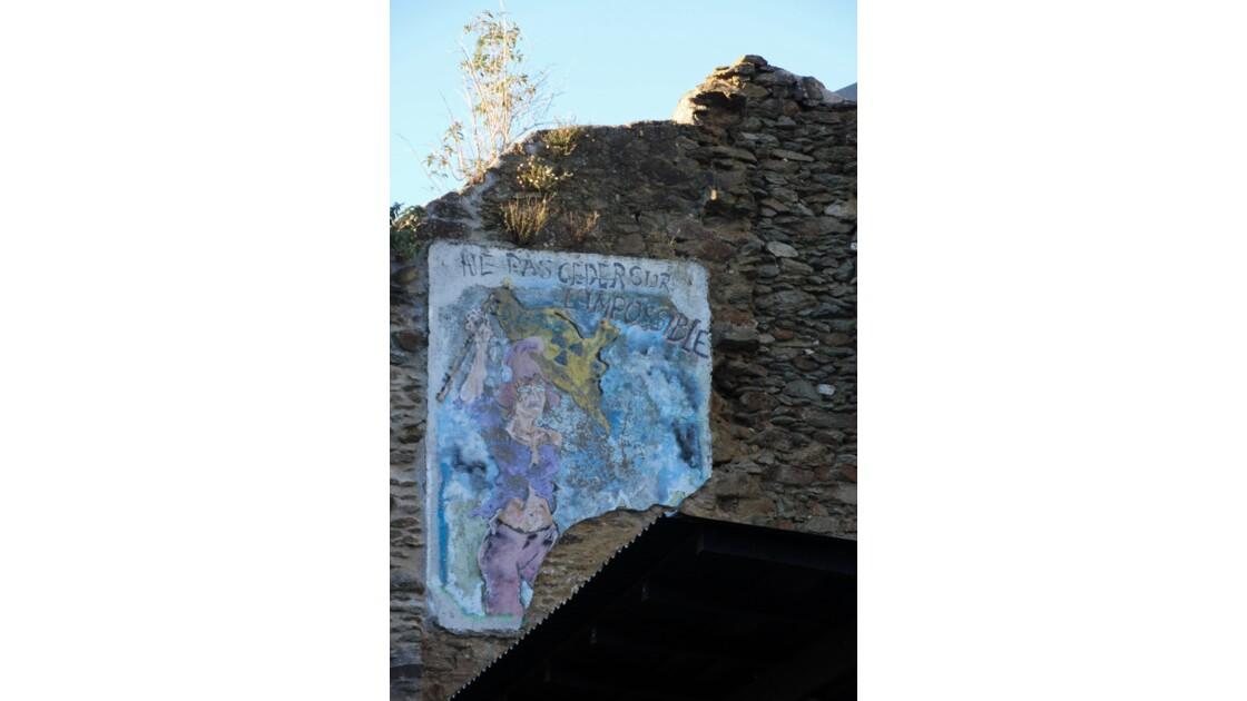 """"""" Saint-Malo """" la rescapée, une rue d'un autre temps"""
