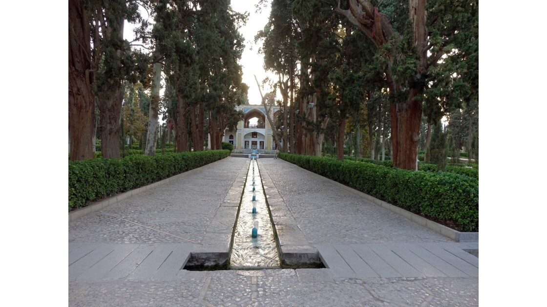 Iran Kashan Le jardin de Fin 2