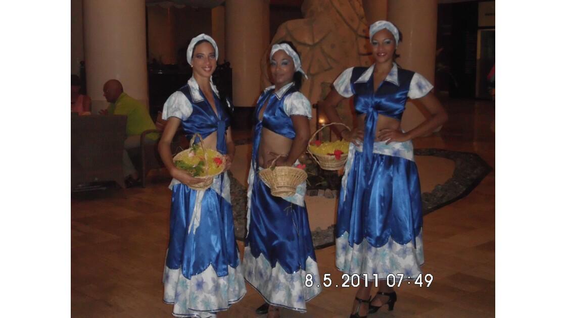 Danseuses cubaines.