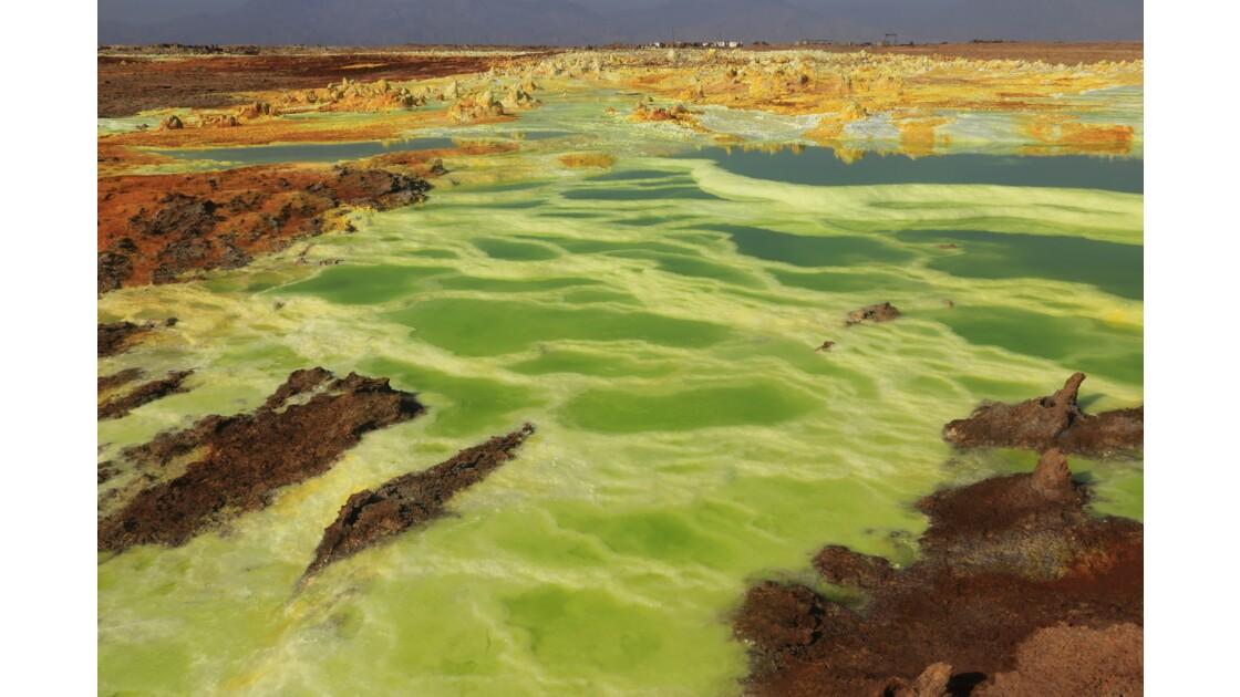 Volcan Dallol Dépression du Danakil Ethiopie