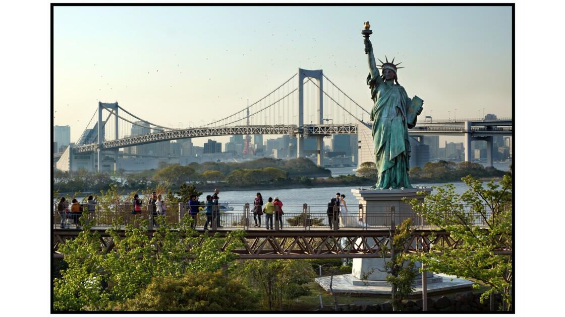 Tokyo - Odaiba - Statue de la liberté