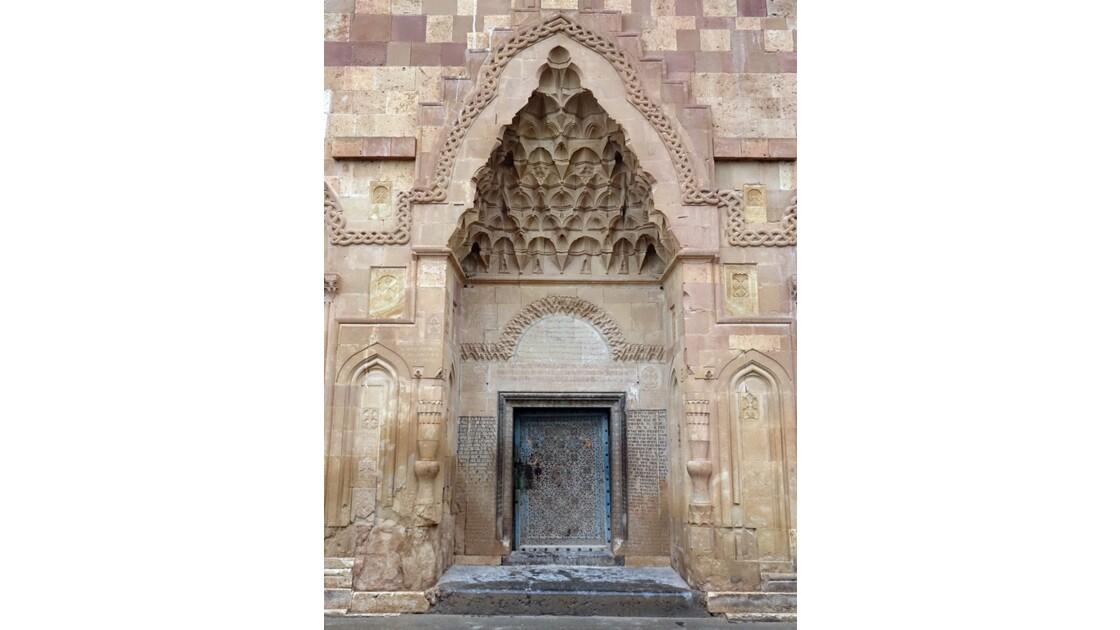 Iran Monastère de Saint Stéphane murs extérieurs 1