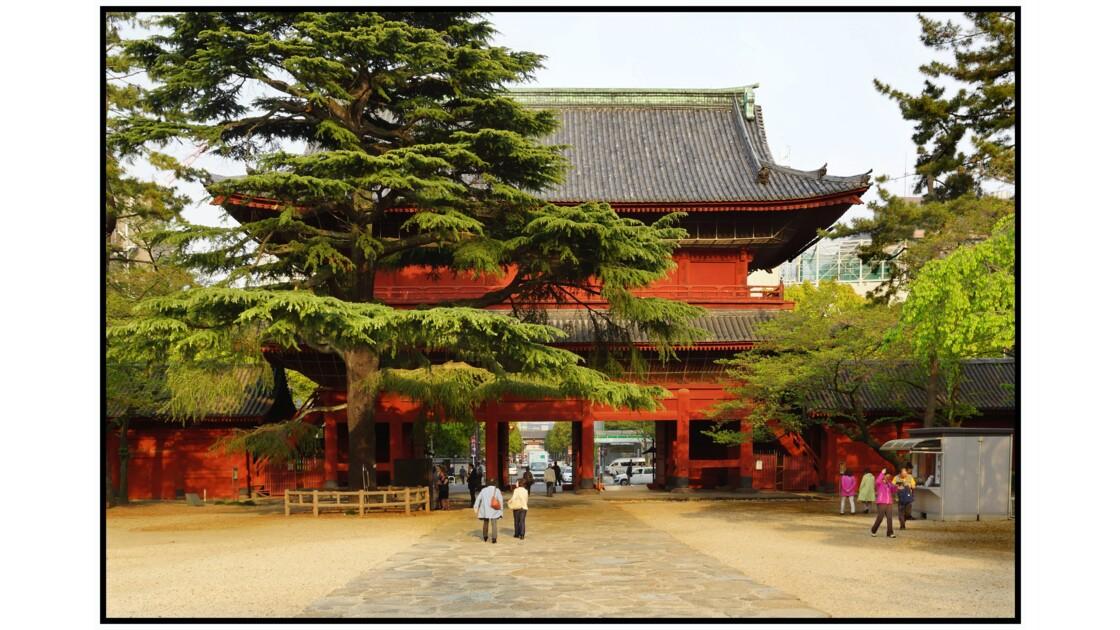 Tokyo - Minato - Porte de Sangedatsu du temple Zōjō-ji