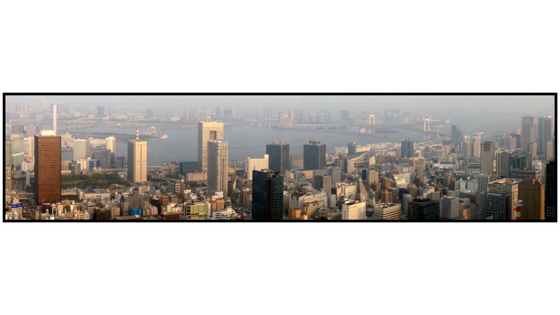 Tokyo - Minato - La baie depuis la Tōkyō tawā