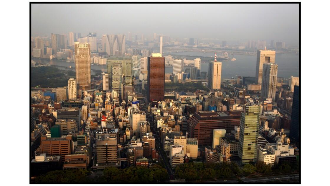 Tokyo - Minato - La ville depuis la Tōkyō tawā