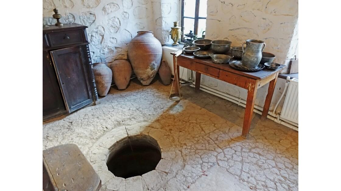 Arménie Goris Musée de l'écrivain Aksel Bakounts Cuisine et son four 2