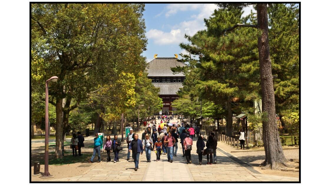 Nara - Tōdai-ji - Chū-mon