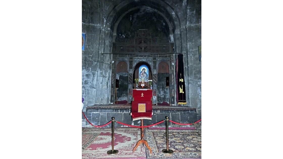 Arménie Sevanavank Sourp Astvatsatsin l'autel 2