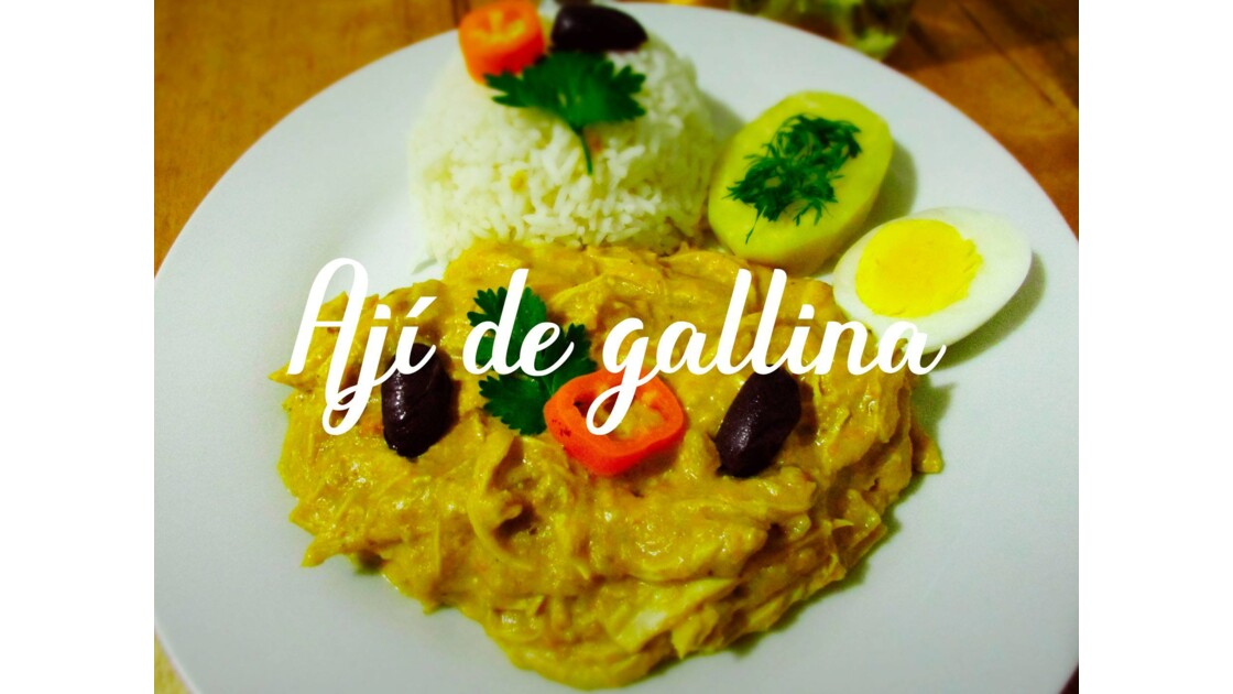 Aji de Gallina