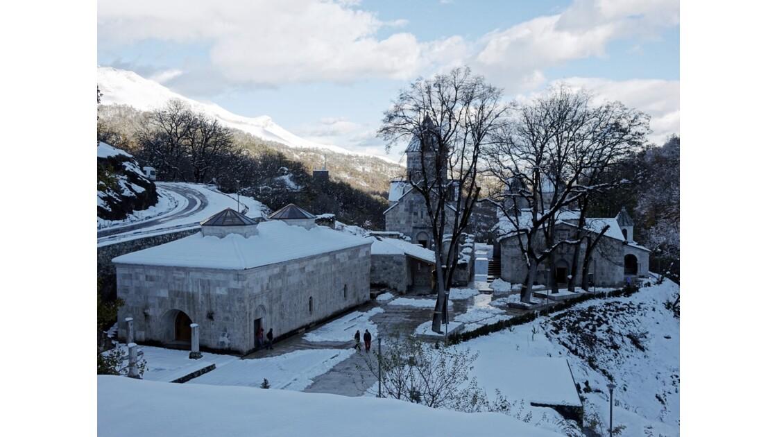 Arménie monastère de Haghartsine 1