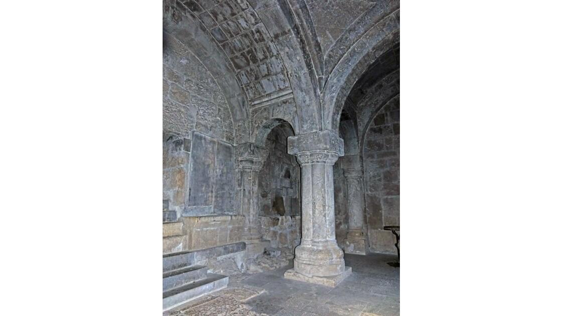 Arménie monastère de Haghartsine -Intérieur du Jamatoun de Sourp Grigor 4
