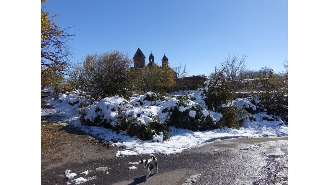 Arménie Entrée du Monastère Saghmosavank 2