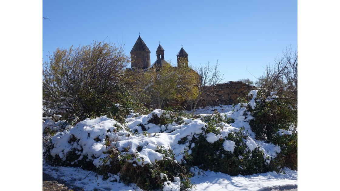 Arménie Entrée du Monastère Saghmosavank 3