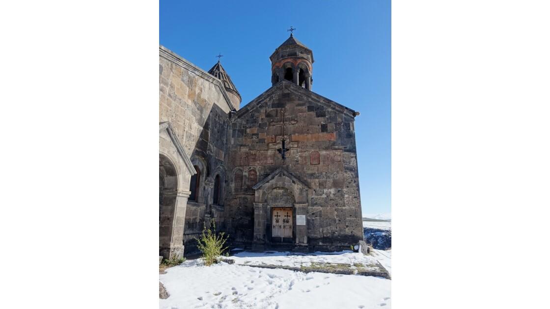 Arménie Monastère Saghmosavank Façade occidentale du matenadaran