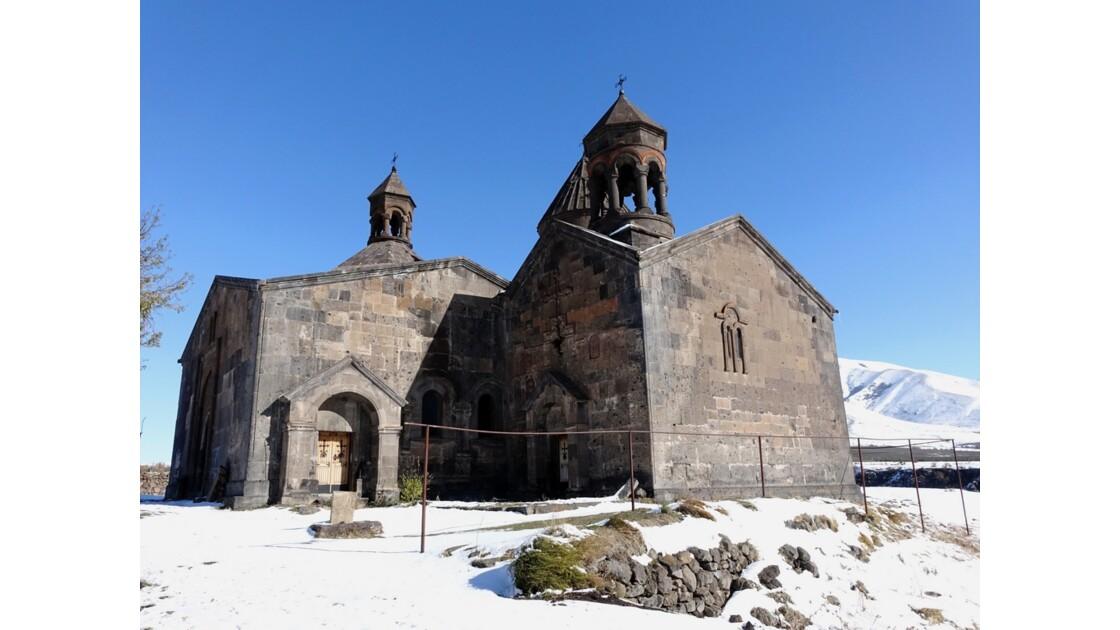 Arménie Monastère Saghmosavank Gavit et Matenadaran