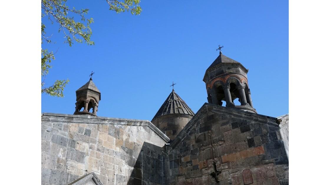 Arménie Monastère Saghmosavank Les coupoles