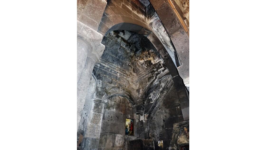 Arménie Monastère Saghmosavank Voute de Sourp Sion