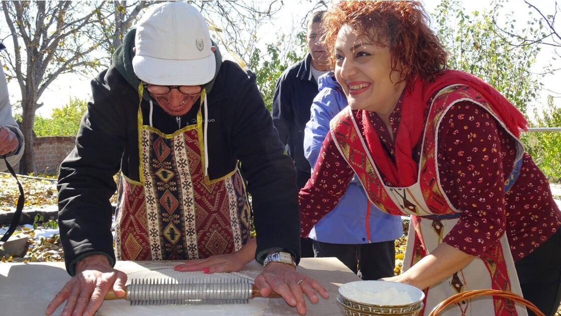 Arménie la  prof de cuisine d'Achtarak 3