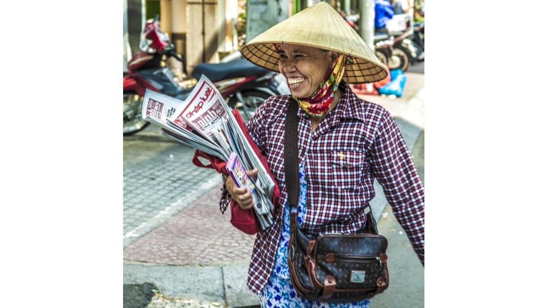 La vendeuse de journaux