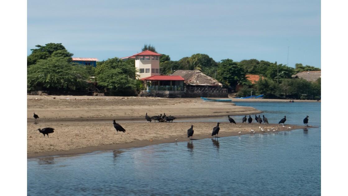 Lacs et cours d'eau au Nicaragua
