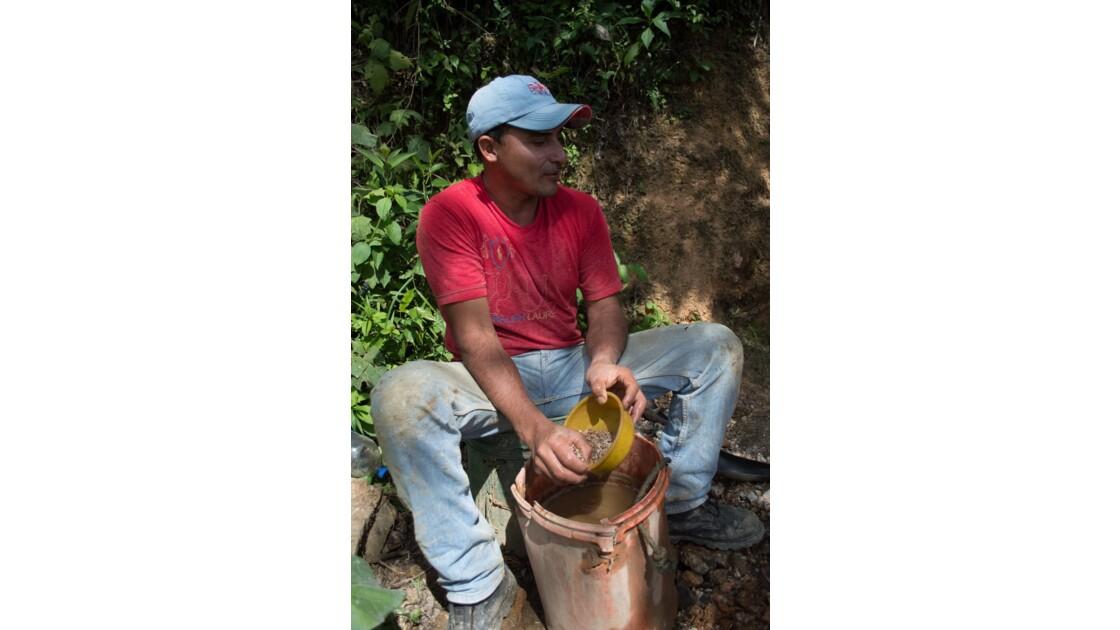 Les orpailleurs du Nicaragua