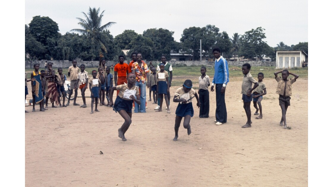 Congo 70 Brazzaville Sport à l'école 1