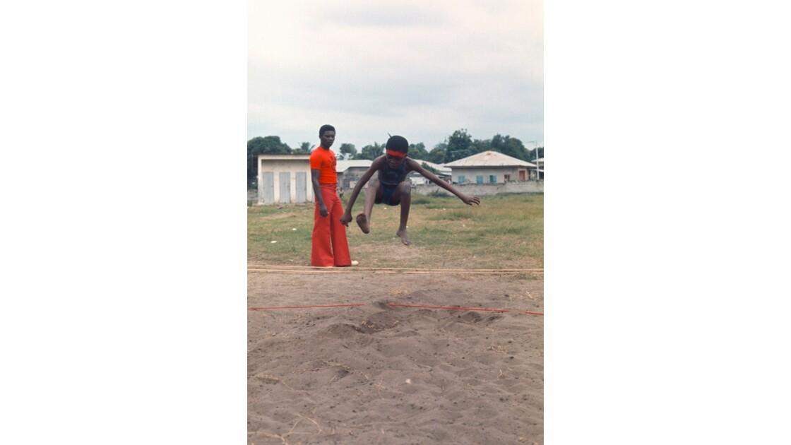 Congo 70 Brazzaville Sport à l'école 6