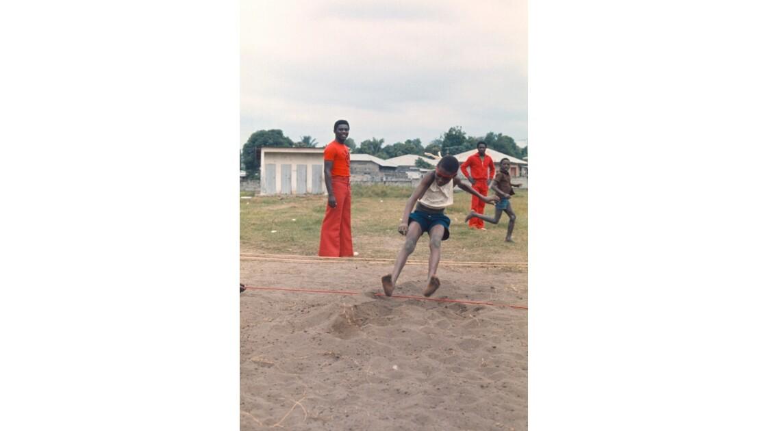 Congo 70 Brazzaville Sport à l'école 8