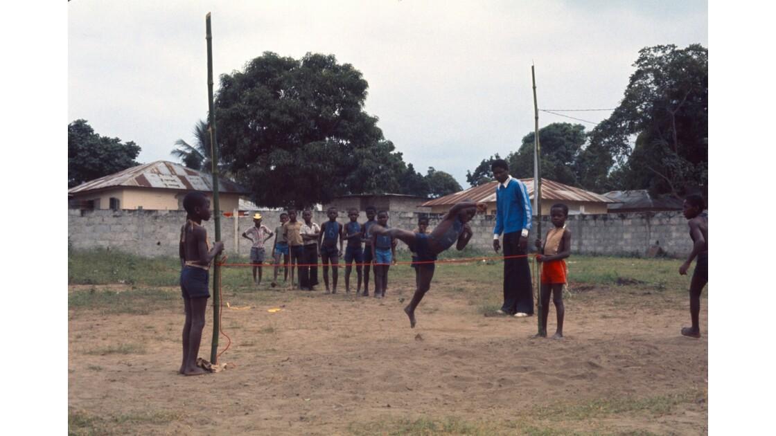 Congo 70 Brazzaville Sport à l'école 9