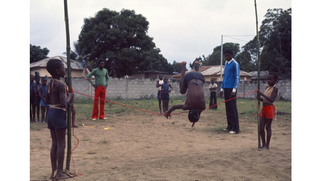 Congo 70 Brazzaville Sport à l'école 13