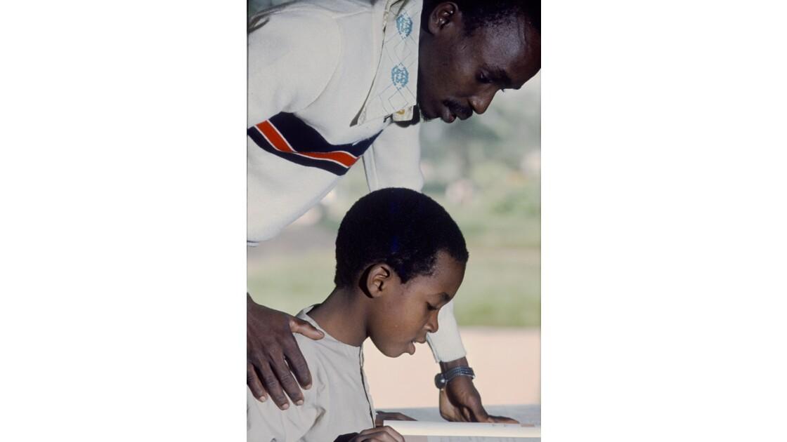 Congo 70 Brazzaville Leçon de lecture 3