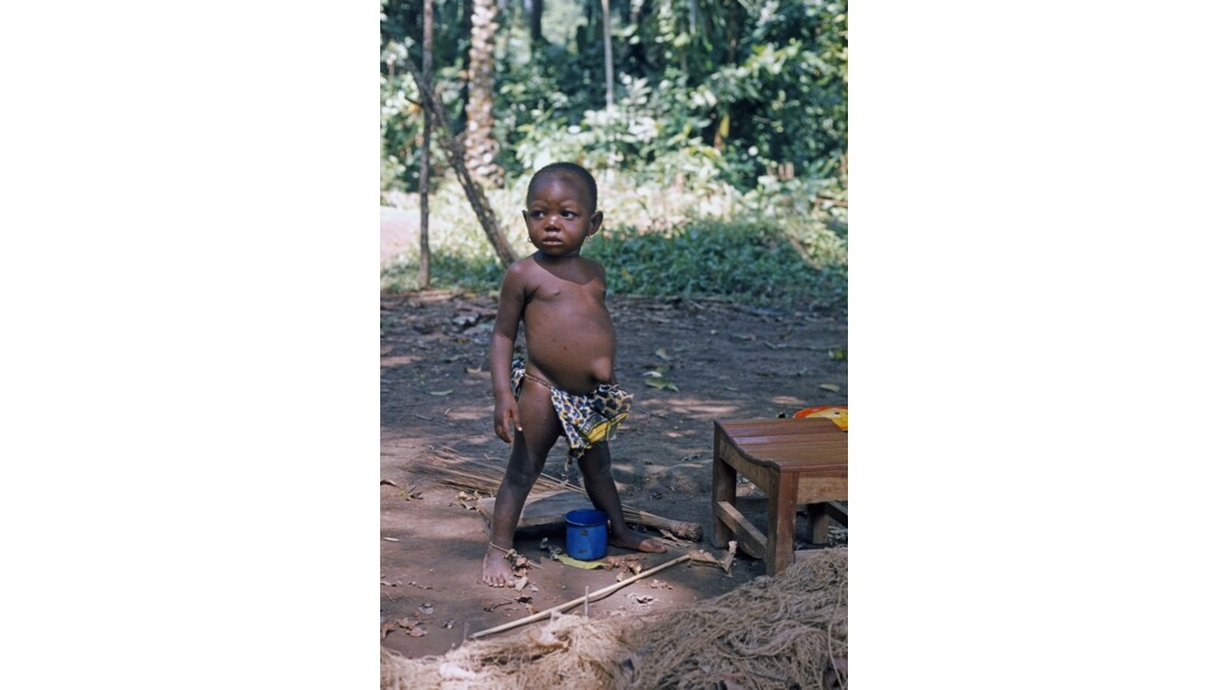Congo 70 Impfondo Au bord de l'Oubangui