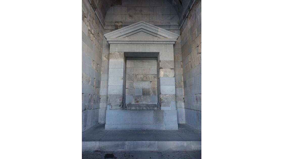Arménie Garni Le sanctuaire du temple Mithra