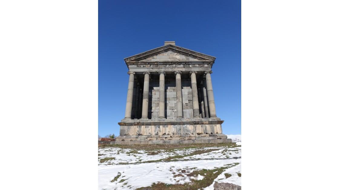 Arménie Garni Le temple Mithra côté sud 2