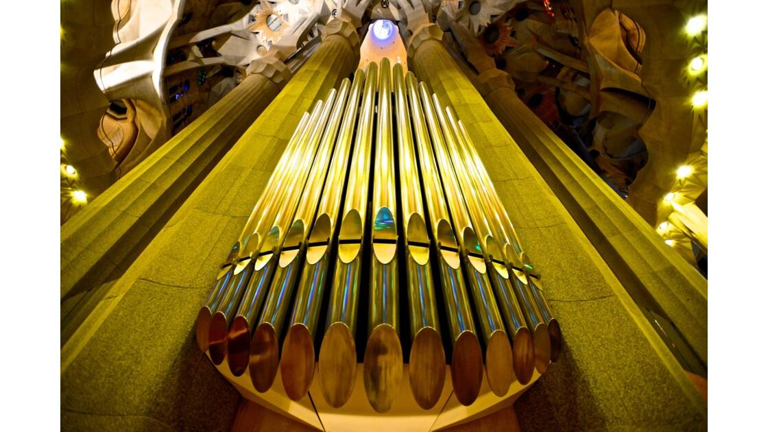 Orgues de la Sagrada Familia de Barcelone
