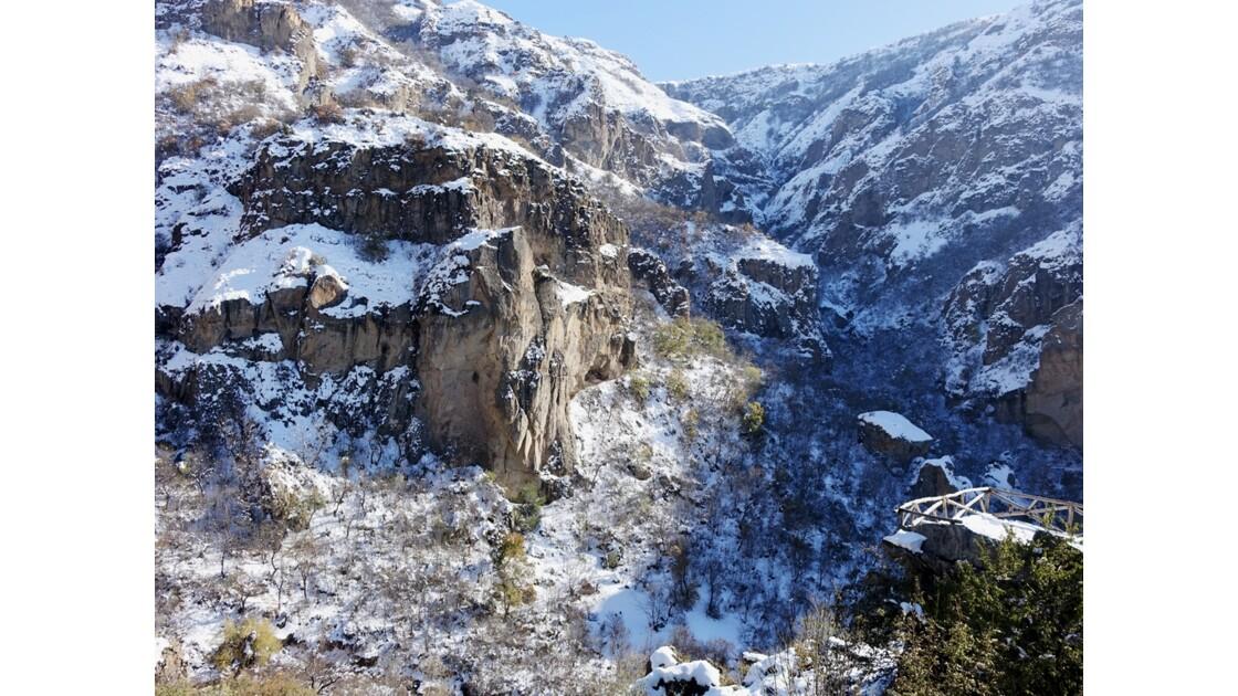 Arménie Gorge de Guéghard 1